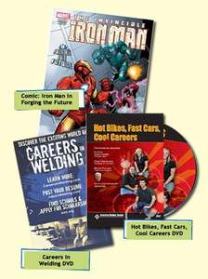 Iron Man Comic & 2x DVD Kostenlos