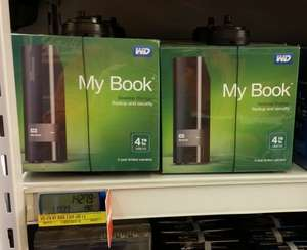 [METRO] WD MyBook 4TB für 142,79€