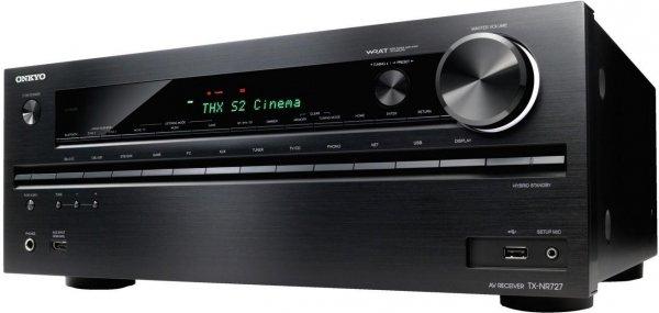 Onkyo TX-NR 727 schwarz AV Receiver, 7.2-Kanal-AV-Netzwerk-Receiver [eBay]