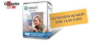 Gutschein im Wert von 14,95 Euro für kostenlose Steuererklärung bei SmartSteuer