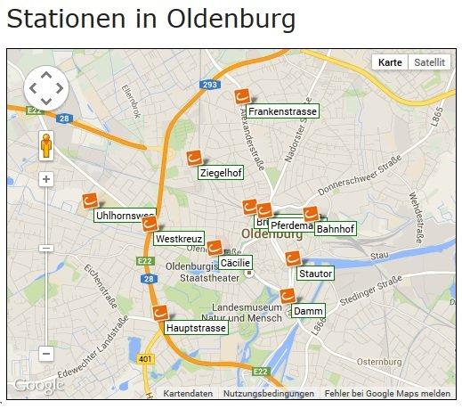 [Oldenburg] cambio CarSharing - Anmeldegebühr (30€) in Fahrtguthaben umwandeln