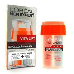[Amazon] L'oreal - L'oreal Men Expert Vita Lift Soin Yeux ( Version Espagnole ) für 5,37€ inkl. VSK