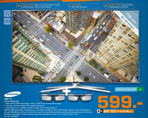 Samsung UE46F6500 599€ Lokal [Saturn Bergisch Gladbach]