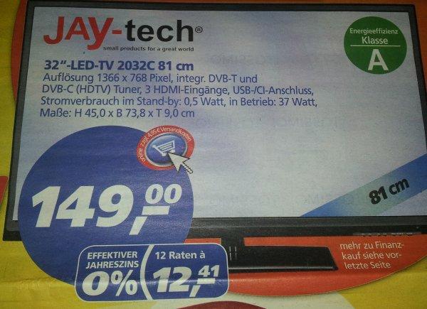 32 Zoll Jaytech LED Fernseher Real 149€