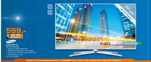 Samsung 46F6510 SSX 599€ @Saturn Dortmund [Lokal]