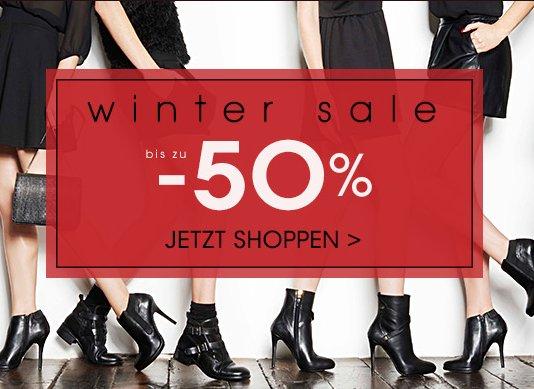 Winter Sale mit bis zu 50% bei Javari.de (Amazon Tochter)