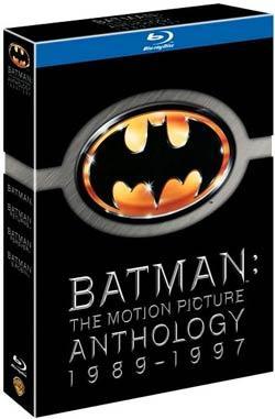 Batman: The Motion Picture Anthology 1989-1997 (4 Disc) [Blu-ray] für ca.13,50€ @ amazon.uk