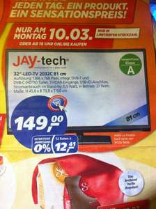 Jay-Tech (JTC) 2032C LED-TV Fernseher 32 Zoll - Real Deal des Tages 10.3.2014 (Montag) 149,00 EUR