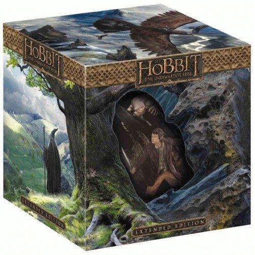 Der Hobbit - Eine unerwarte Reise (Extended Edition, Blu-ray 3D + 2D, 5 Discs mit Statue) @ Müller Online