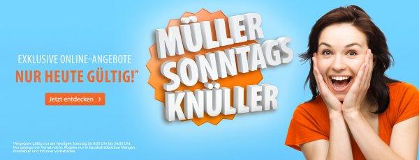 [Müller]  Müller Sonntagsknüller (GTA V, Super Mario, Hobbit, Django Unchained.....und ein Pony!) ab