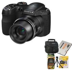 FUJI FINEPIX S2980 Digitalkamera (18fach Zoom, 3 Zoll Display, HDMI, HD-Video, Panorama) [eBay]