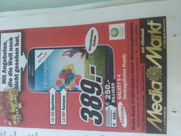 Galaxy S4 im MM Mönchengladbach