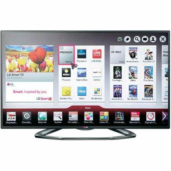 [Conrad.de] LED-Fernseher 139 cm 55 Zoll LG Electronics 55LA6208 DVB-T, DVB-C, DVB-S, Full HD, 3D, Smart TV, WLAN, PVR ready, CI+ Ca