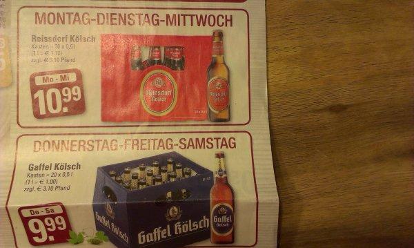 [lokal Köln] Reissdorf & Gaffel Kölsch