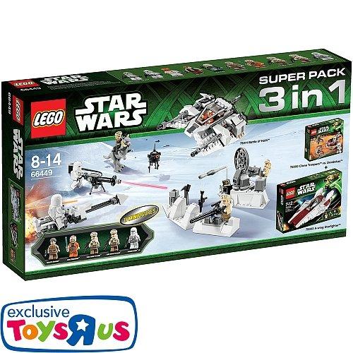 LEGO® Star Wars - 66449 (Super Pack 3 in 1) für 60€ @ToysRus