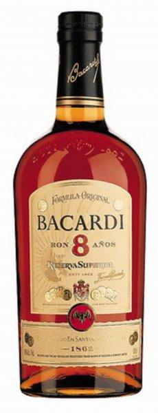 Bacardi 8 Años ab Montag bei trinkgut für 14,99€