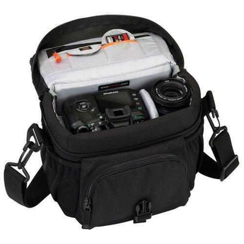 Lowepro Nova 160 AW Kameratasche schwarz für 21,39 € @Amazon.fr