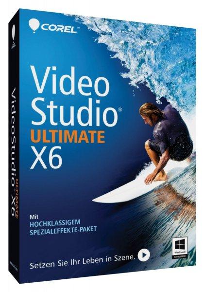 [Amazon] Corel VideoStudio X6 Ultimate - 45€ statt 59€