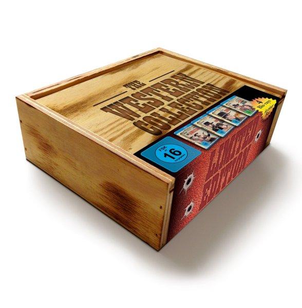 [amazon.de] [Blu-Ray] Western Collection in limitierter Holzbox für 19,97 €