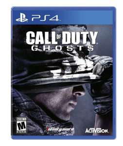 Call of Duty Ghosts für PS 4 und Xbox One 44,99€ inkl. Versand (amazon.com) PS 4 Digital 28,81€ / Killzone Shadow Fall Digital 28,81€