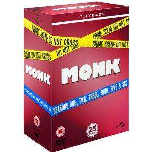 Monk Staffel 1-6 Komplett (25 DVDs) @amazon.co.uk