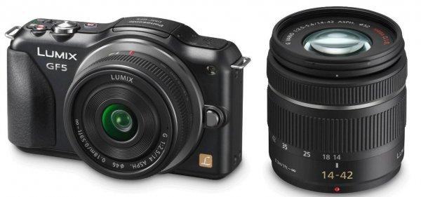 Panasonic GF5 inkl. 14-42 und 14 2.5  Amazon.fr