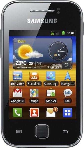 Samsung Galaxy Y S5360 Grau für 34€ @Smartkauf