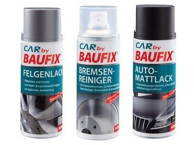 LIDL [Offline] Baufix Bremsenreiniger/Felgenlack/Alu-Zinkspray/Auto-Mattlack ->> 2,99 !!!
