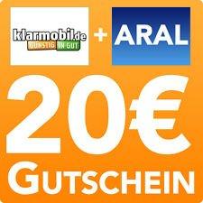 20,00 € ARAL Tankgutschein für 4,95€ mit Klarmobil SIM-Karte