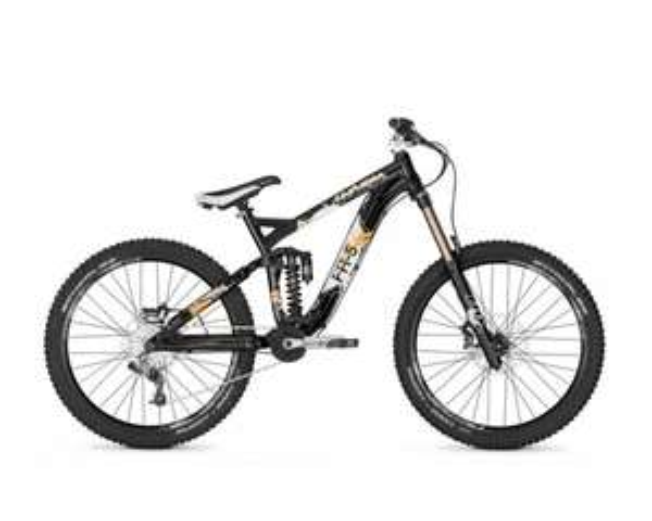 Univega RAM FR-5 20G X.0 Black Glossy 2012 MTB Fully Freeride Downhill