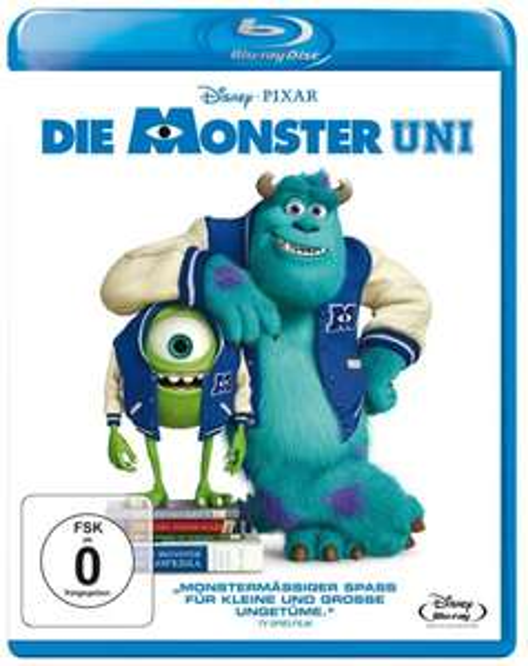 [Blu-ray] Die Monster Uni @ Amazon.de (mit Prime/Hermesshop, ohne VSK-frei ab 20€)