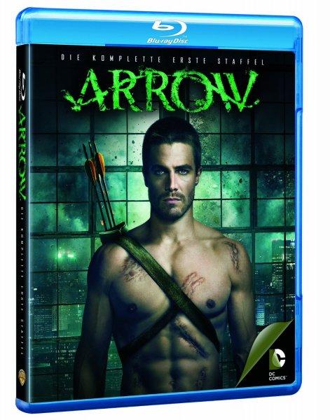 Blu-ray Box - Arrow (Staffel 1 auf 4 Blu-rays) für €29,97 [@Amazon.de]