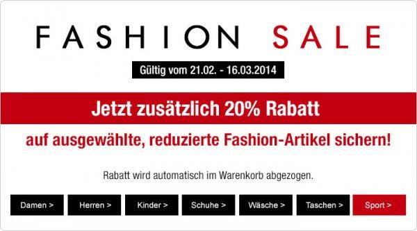 Sale und zusätzlich 20% Rabatt auf Jack Wolfskin-Jacken @ galeria-kaufhof