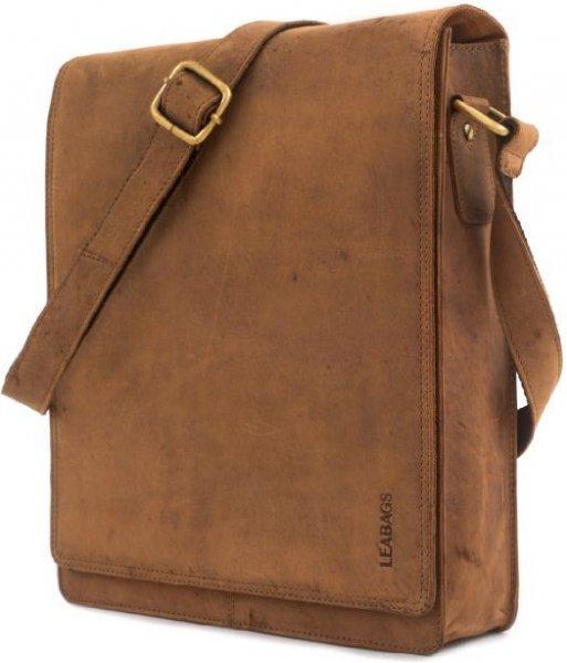 Leabags Messenger Bag braun für 50€ @ Amazon