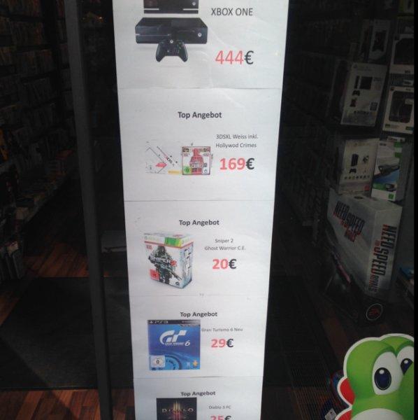 Xbox One 444 Euro