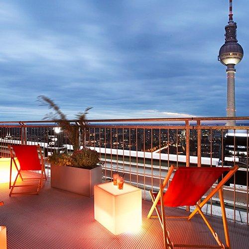 Gutschein für 2 Übernachtungen und 2 Personen im Park Inn Hotel am Alexanderplatz für 139€