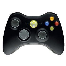 Xbox 360 Wireless Controller (Schwarz) für rund 20€ @ thehut.com