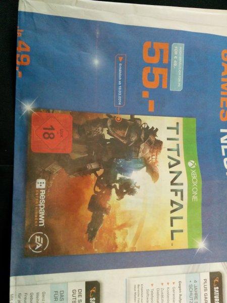 [lokal Köln] Titanfall Xbox One für 55€