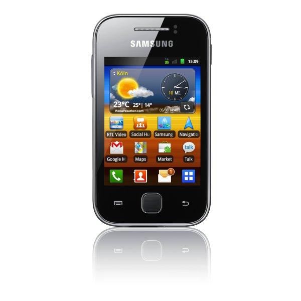 Wieder da! Samsung Galaxy Y S5360 Grau für 34€ @Smartkauf
