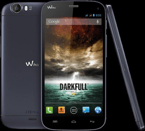 Wiko Darkfull darkblue 5 Zoll Smartphone für 239,00 +5,60 Versand bei reichelt.de