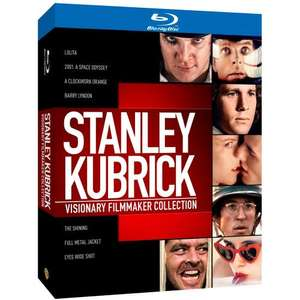 Stanley Kubrick: Visionary Filmmaker Collection [Blu-ray]  amazon.co.uk