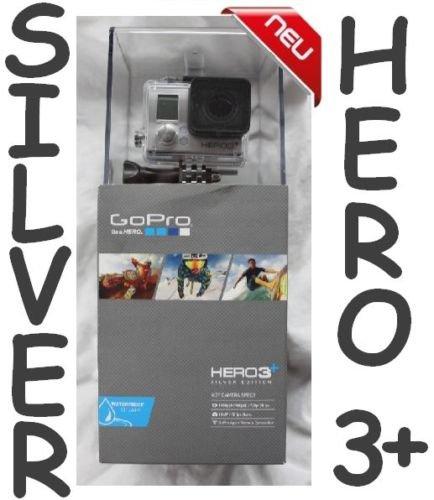 GoPro Hero3+ PLUS Silver Edition für 249,99€ inkl. Versand - Vergleichpreis 269,90€