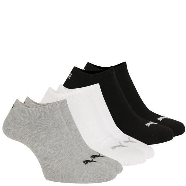 """Puma™ - Sneaker Socken """"Invisible"""" 3er-Pack (Grau/Weiß/Schwarz) für €2,15 [@Zavvi.com]"""