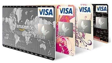 Nur für ausgewählte - Statt bisher 2% ab 1. April grandiose 5% Rabatt auf alle Amazonbestellungen mit Amazon-Visakarte  (5 Amazonpunkte statt 2 pro 1 € Amazonumsatz) + 50€ Startguthaben
