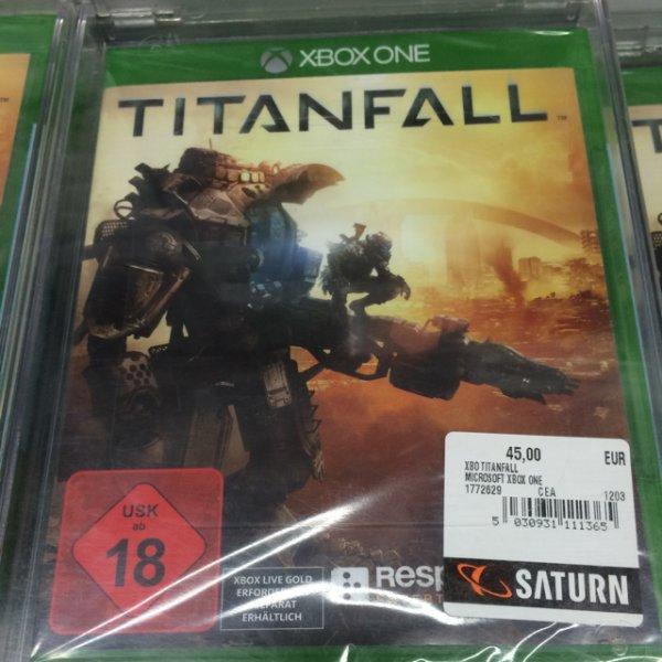 [Lokal Berlin] Titanfall Xbox One 45€ (Saturn)