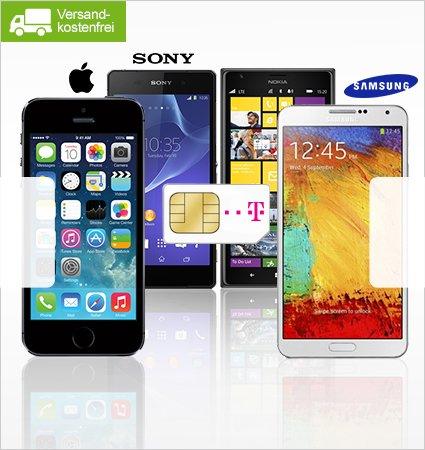 @limango - Telekom Allnet-Flat 39,95 € mtl. inkl. iPhone 5s, Samsung Galaxy S5 u.a. nur 9,90 €
