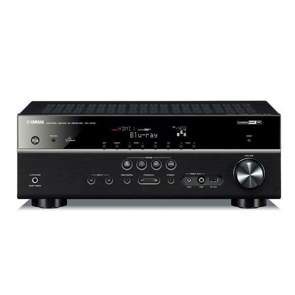 Yamaha RX-V475 Netzwerk AV-Receiver schwarz 249€