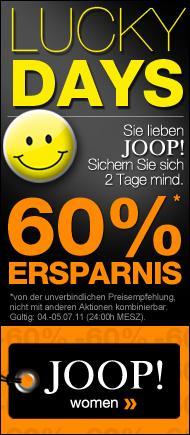 60% Ersparnis auf alle Joop-Artikel (für Damen) bei dress-for-less.de