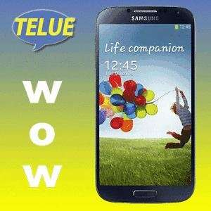 Samsung Galaxy S4 i9505 16GB - LTE Smartphone - NEUGERÄT - Farbe schwarz