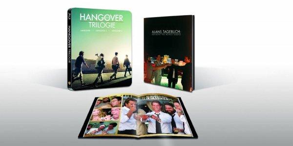 Hangover Trilogie Steelbook (exklusiv bei Amazon.de) [Blu-ray]